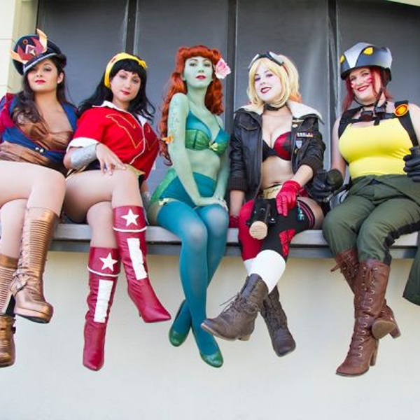 Comic-Con,косплей, Лучшие косплееры с Comic-Con 2014