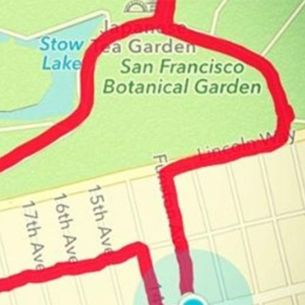 приложения,мем,GPS,фитнес, Послать на три буквы с помощью GPS