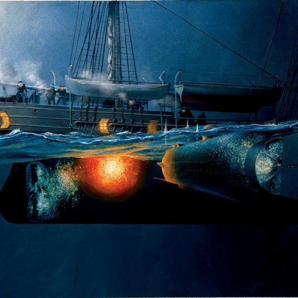 США, история, археология, подводная лодка, война, Субмарина конфедератов открывает свои секреты