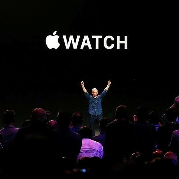 Apple, iPhone, Apple Watch, фитнес, спорт, часы, После выхода Apple Watch, стоимость компании может возрасти до $1 трлн