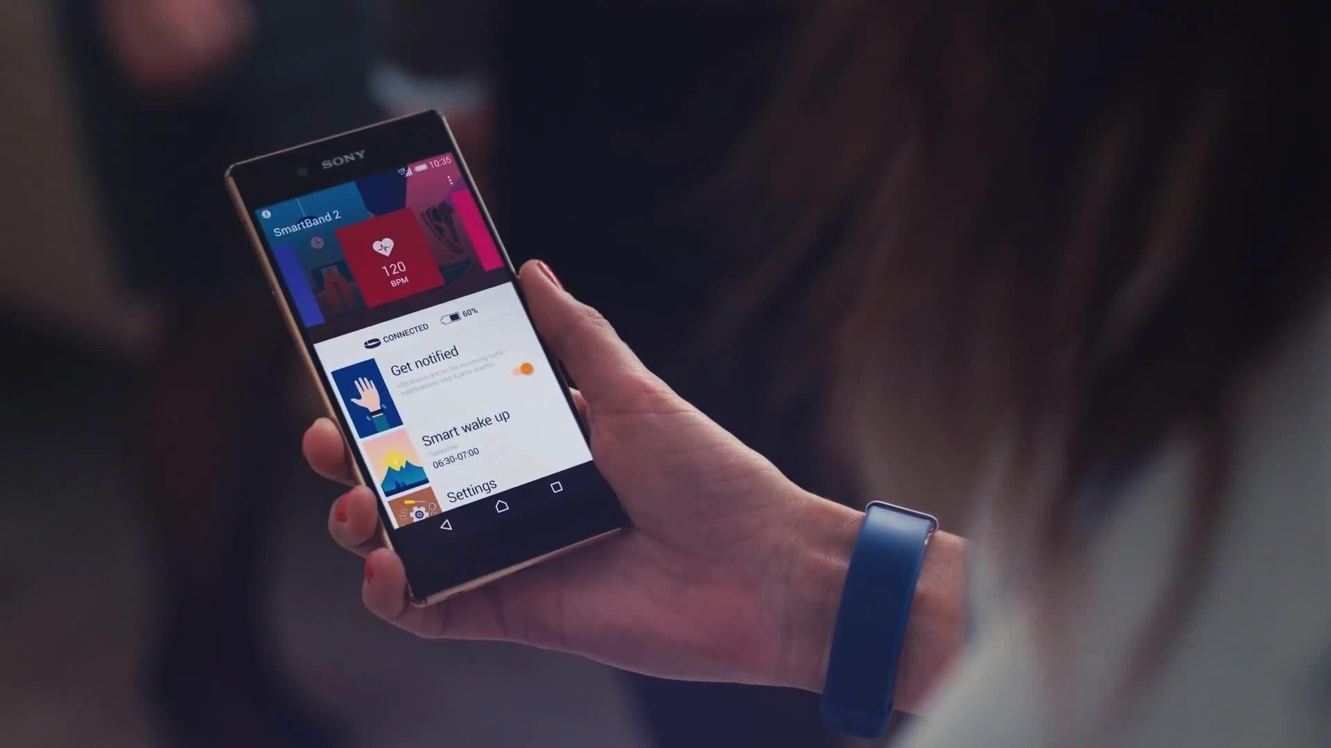 Обзор фитнес-трекера Sony SmartBand 2