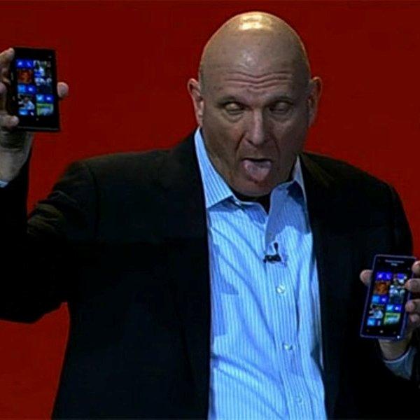 Стив Джобс, Apple, Microsoft, Internet Explorer, Nokia, смартфон, планшет, Стив Балмер: Microsoft напрасно инвестировала в Apple