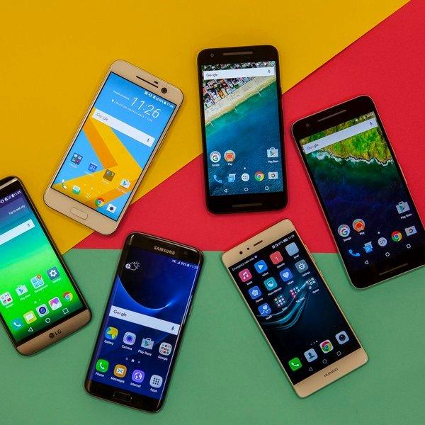 Google, Android, Huawei, Samsung, HTC, LG, Nexus, смартфон, Топ-6: лучшие Android-смартфоны