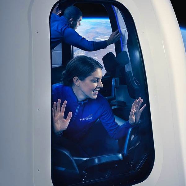 Blue Origin, SpaceX, космос, Blue Origin показала капсулу для суборбитальных полётов