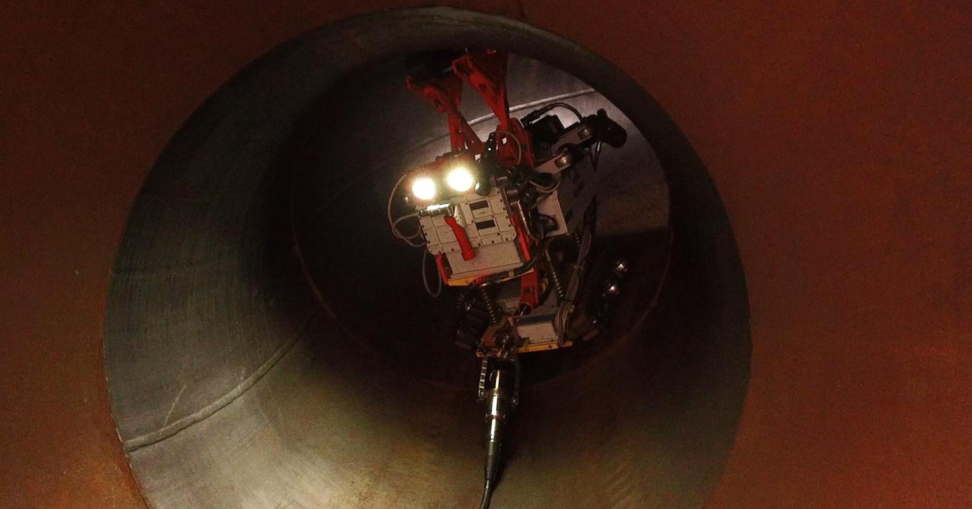 Русский робот инспектирует американские трубопроводы