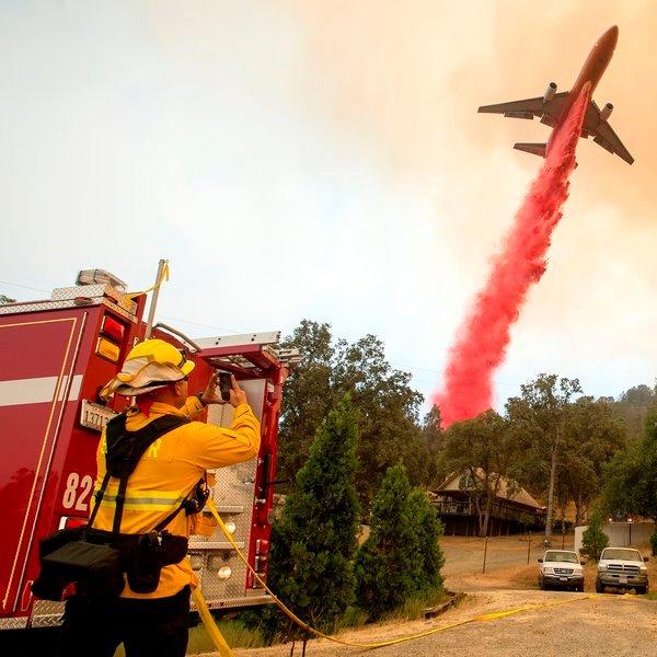 Boeing,авиация,самолёт, Мегамашины: пассажирский Boeing-747 переделали в противопожарный самолет