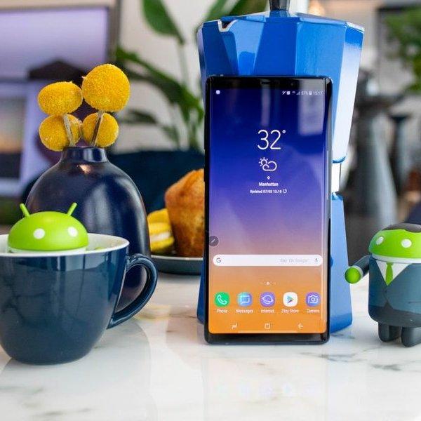смартфон, Обзор смартфона Samsung Galaxy Note 9