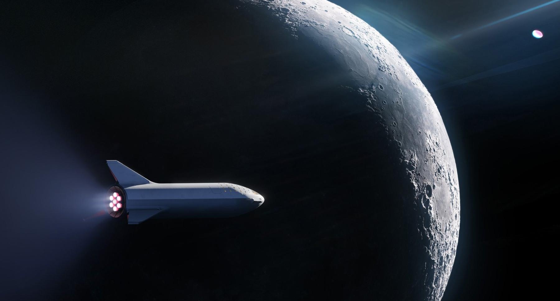SpaceX объявила о выборе первого туриста для полета на Луну